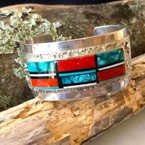 Vintage Native Navajo Richard Begay Bracelet